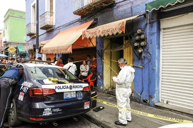 En pleno Centro Histórico, asesinan a comerciante de dos puñaladas