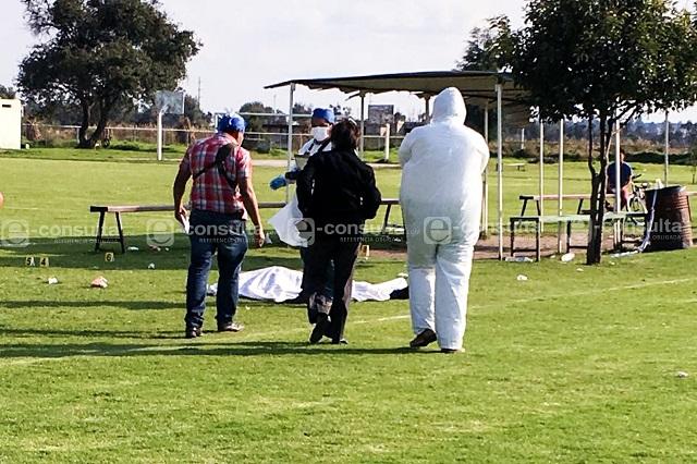 Mueren 2 más por balacera en campo de futbol de Huejotzingo