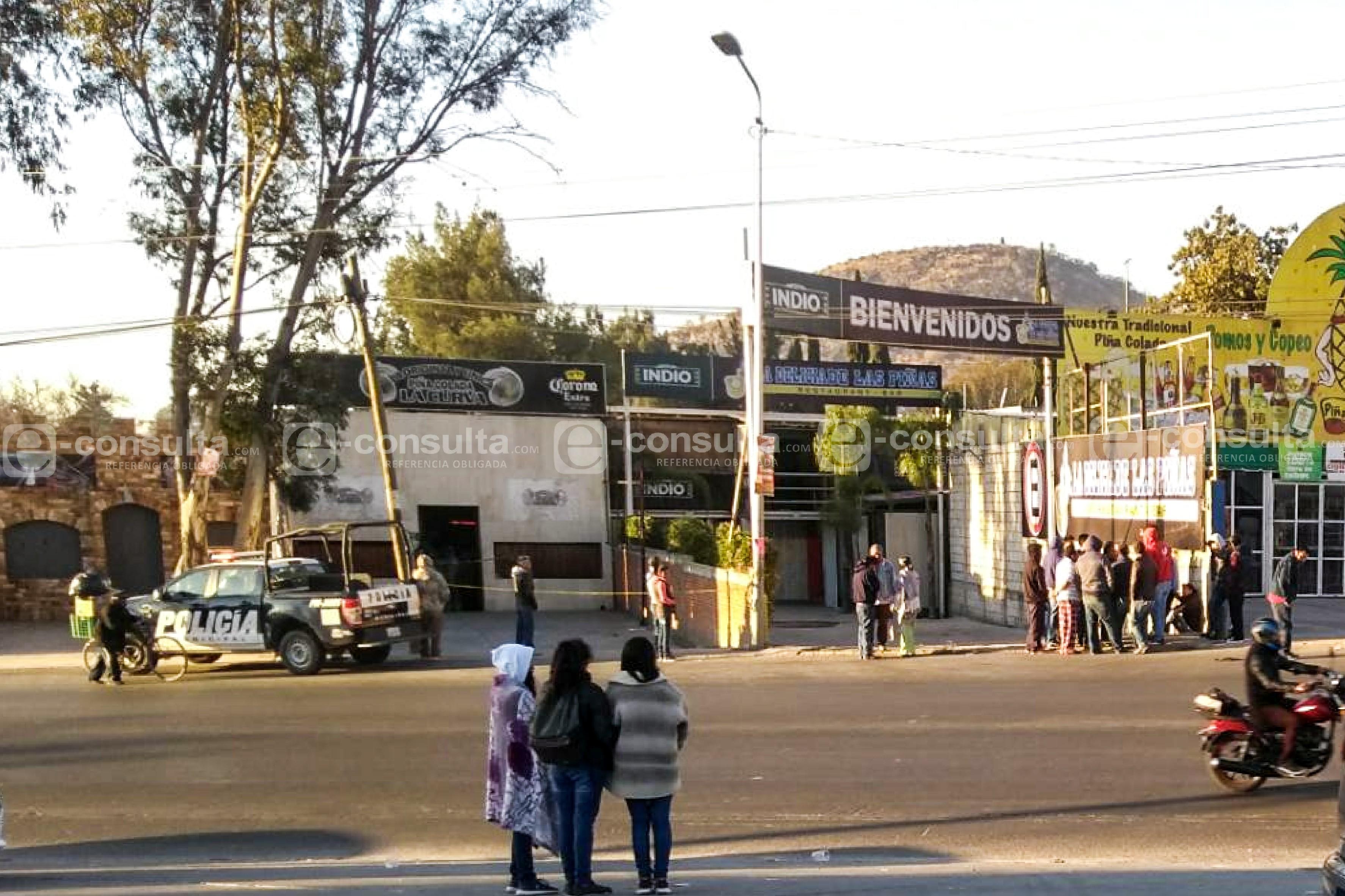 Ejecutan a uno de los clientes en Las Piñas de Totimehuacan