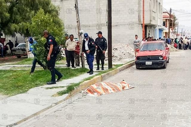 Acribillan a El Tío frente a su hojalatería en Acatzingo