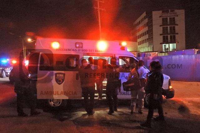 Roban camioneta y lesionan a empleados en la Puebla-Tlaxcala