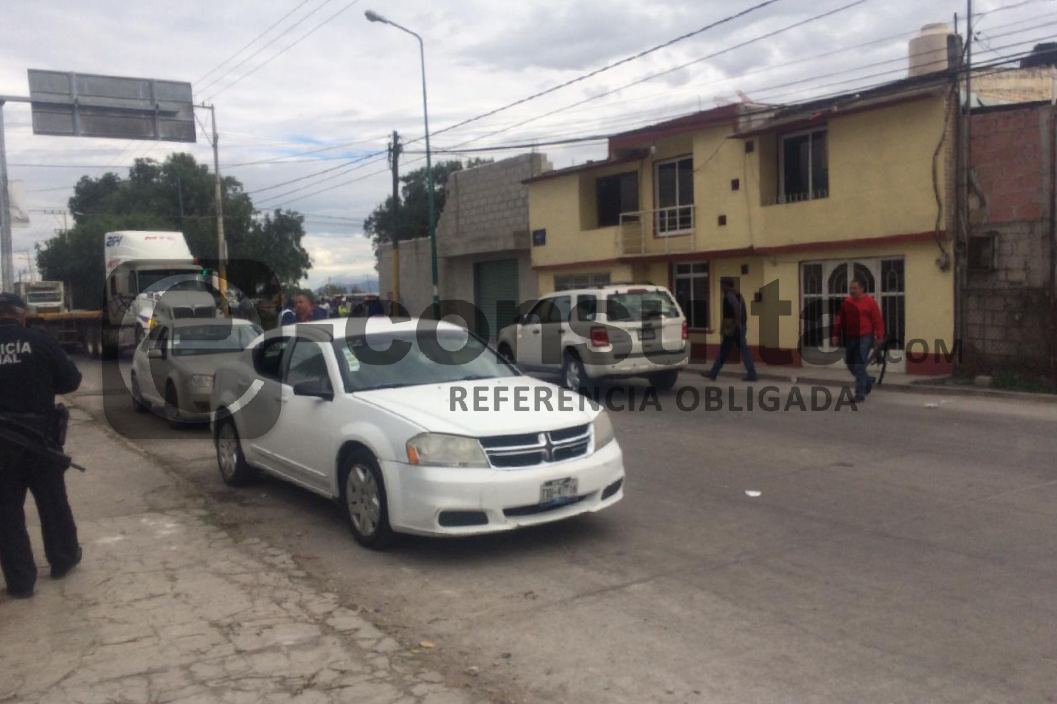 Balean y desarman a dos ministeriales en calles de Tepeaca