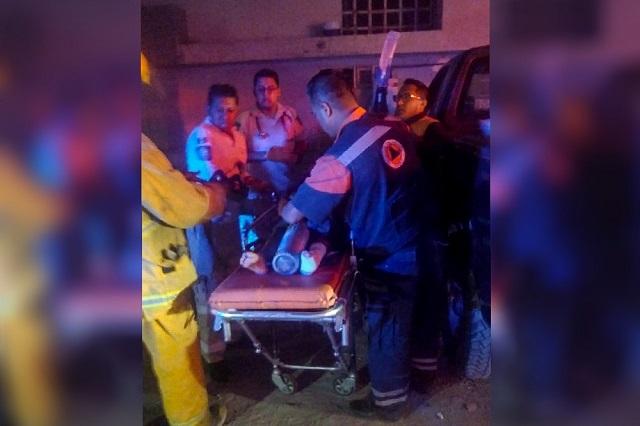 Niño de 10 años atropella a mujer con sus dos hijos, en Clavijero
