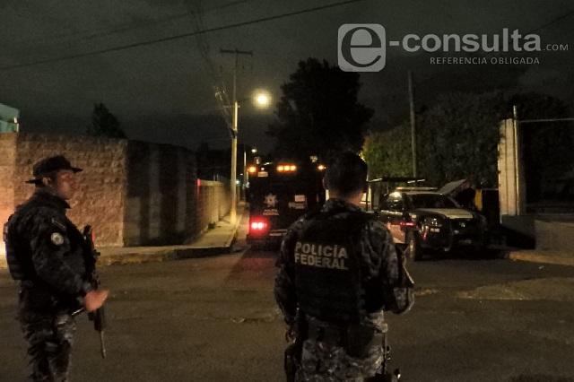 Policía Federal realiza decomiso de piratería en La Cuchilla