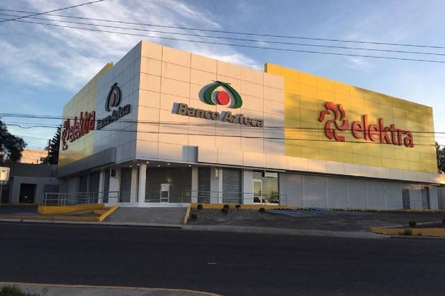 Someten a clientes y empleados en asalto a Elektra de Totimehuacán