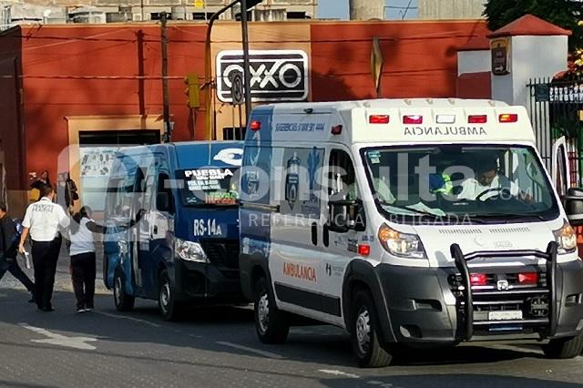 Tras maratón de infracciones, choca ruta RS-14A en la 11 Norte
