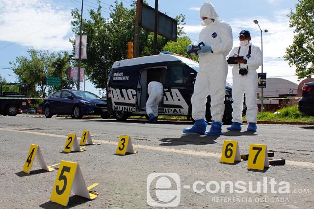 Así se procesa la escena de un crimen en Puebla