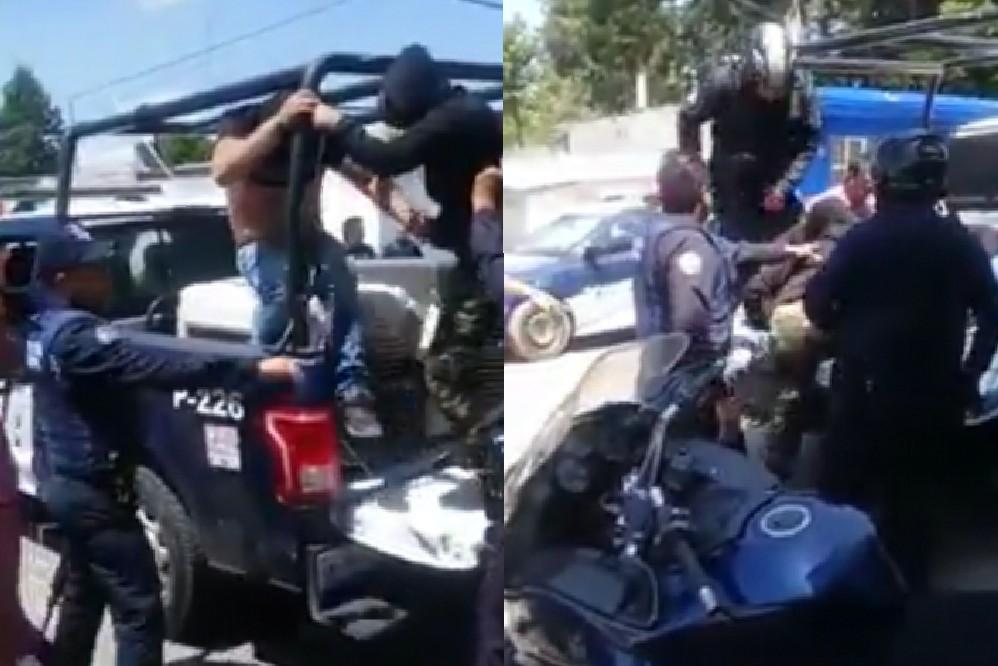 Desarticulan banda que asaltó AT&T de Mega Serdán