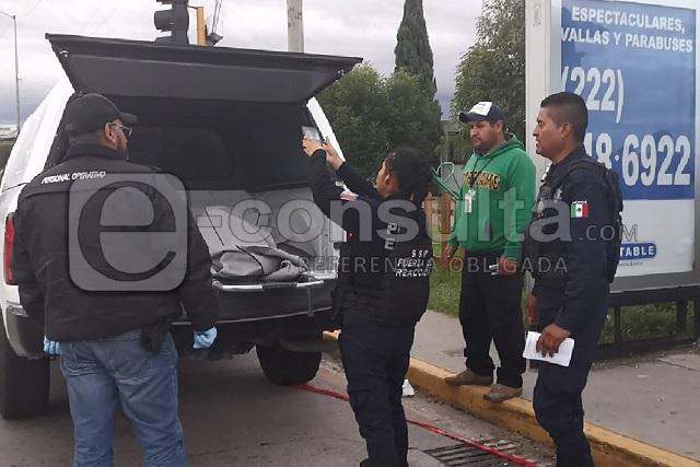 Joseline pedía limosna con su padre, murió atropellada en Puebla