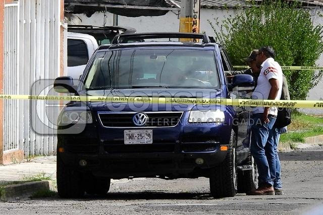 Desde una moto ejecutan a automovilista en La Hacienda