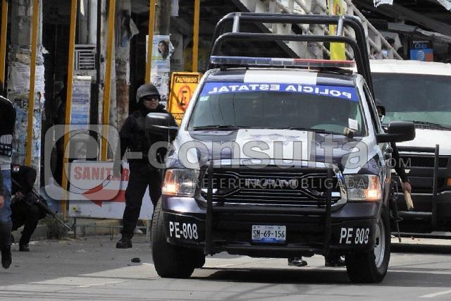 Apedrean a policías y Guardia Nacional en La Cuchilla