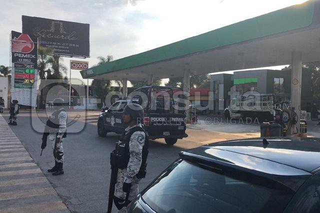 Profeco y Guardia Nacional revisan gasolineras de Puebla