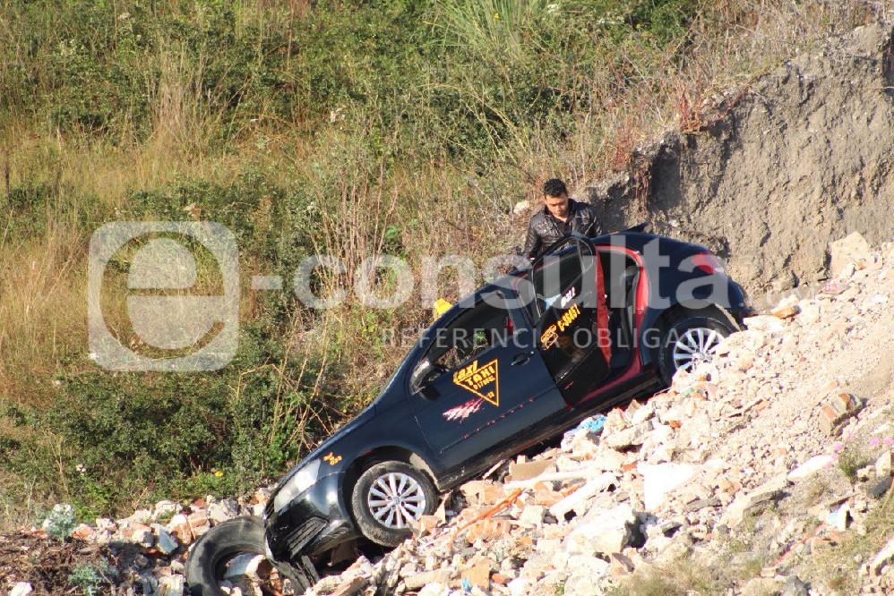 Matan a taxista dedicado a asaltar, entre Puebla y Amozoc