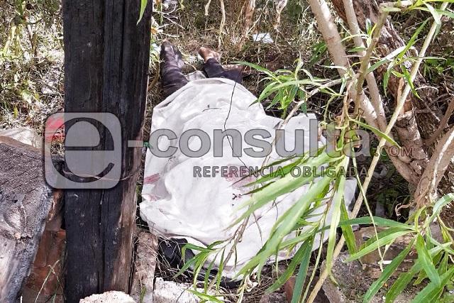 Ocurre en Castillotla el cuarto asesinato del día en Puebla