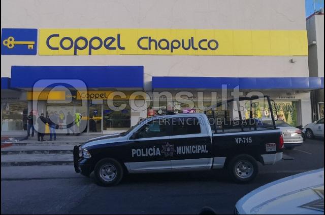 Primer asalto a Coppel en 2020, en San Jose Chapulco