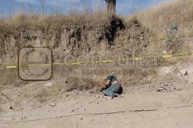 Ejecutan a hombre en el Cerro Totolqueme, en Texmelucan