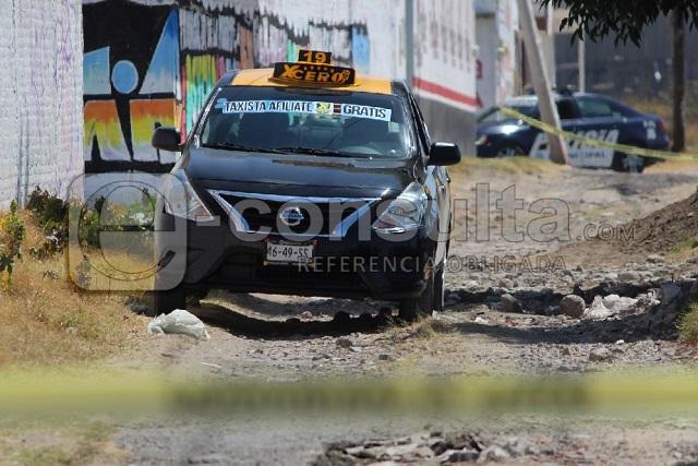 Matan a balazos a taxista en la Guadalupe- Xonacatepec