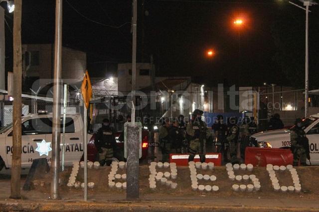 Operativo sorpresa de Policía y GN en Cereso San Miguel