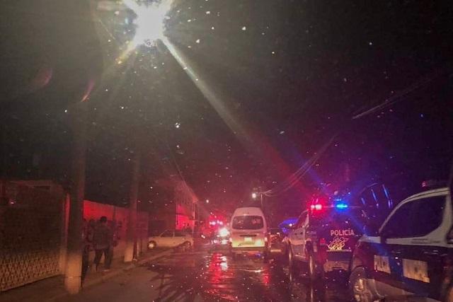 Un muerto y un herido deja ataque armado en Texmelucan