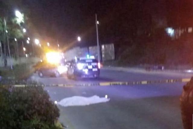 Muere motociclista tras derrapar atrás del IMSS de La Margarita