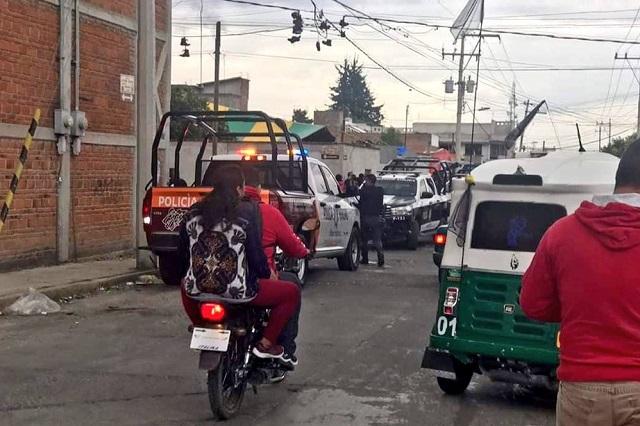 En asalto matan a empleado de recicladora en Huejotzingo
