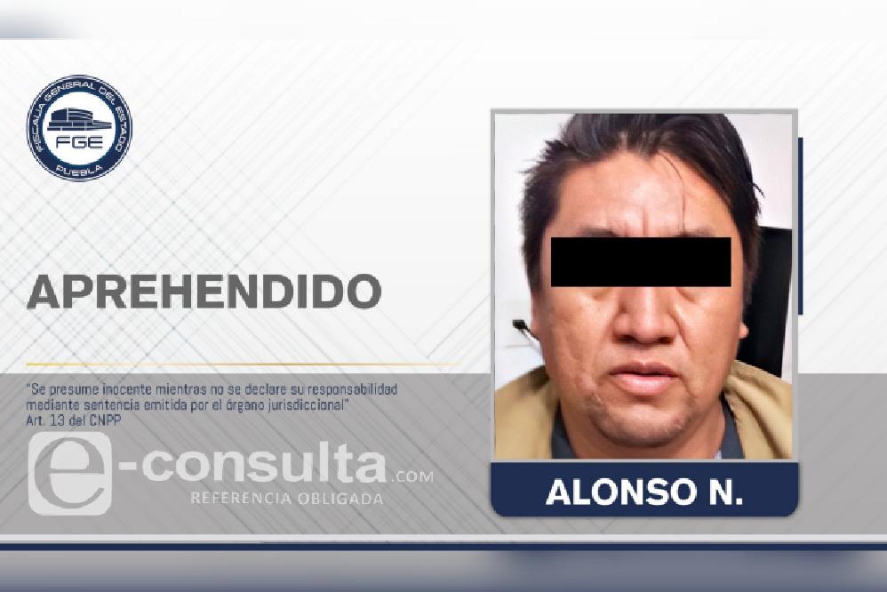 Detienen a Alonso, feminicida de Gardenia y Dulce en Acajete