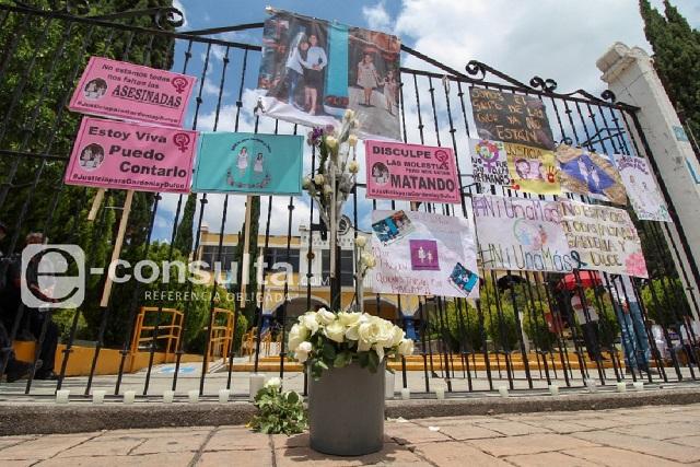 Exigen no encubrir a cómplices de feminicidio de Gardenia y Dulce
