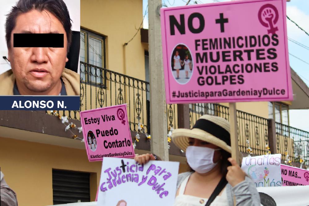 Tras 20 horas llega a Puebla el feminicida de Gardenia y Dulce
