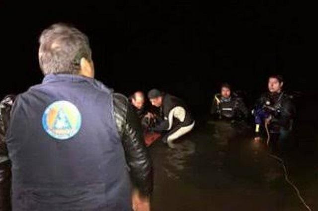 Muere pareja ahogada en la laguna de Zacachimalpa