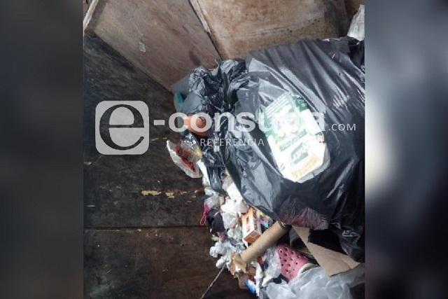 Hallan cadáver desmembrado en basurero de Xilotzingo