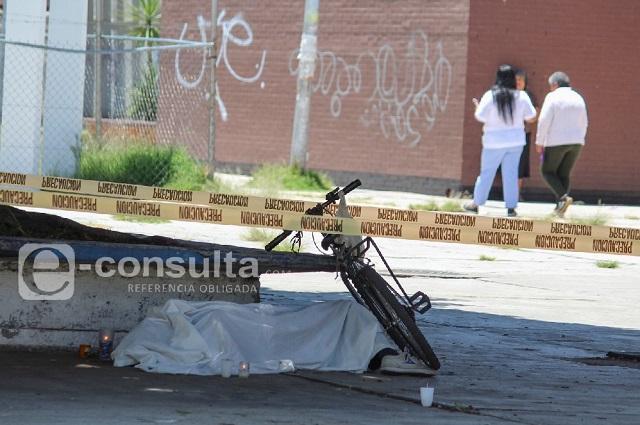 Paro cardiaco mata a ciclista adulto en Puebla