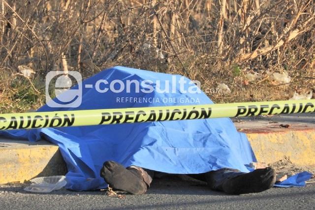 Matan a maestro durante un asalto en Tehuacán