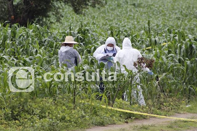 Maniatado y apuñalado hallan cadáver en Huejotzingo