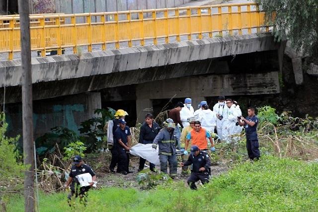 Guillermo se suicidó bajo el puente de Azumiatla