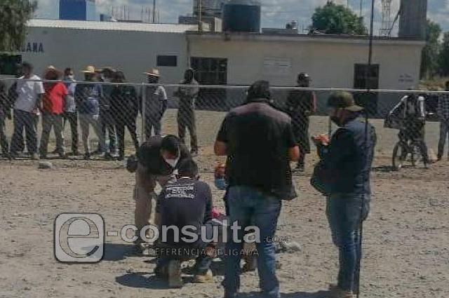 Linchan a un hombre en la central de abasto de Huixcolotla