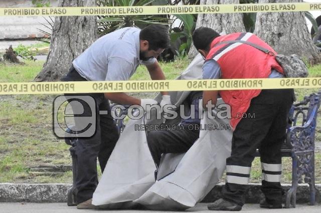 Muere hombre frente a la presidencia de Xochimehuacán