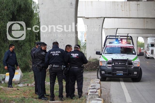 Trailero denuncia abuso de autoridad de la Policía Estatal de Puebla