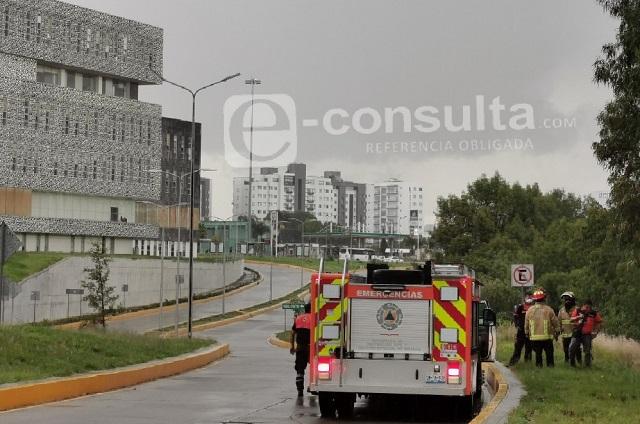 Alarma reporte de bebé junto al río, atrás del CIS de Angelópolis