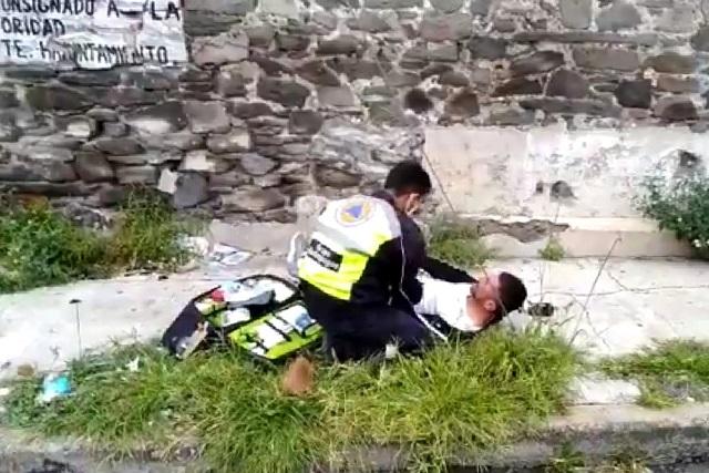 Golpean a Aldo en un supuesto asalto en Barrio de San Miguelito