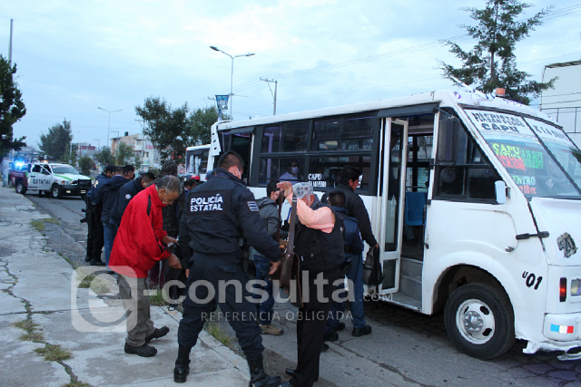 Policía Estatal retoma operativo Pasajero Seguro en Puebla capital