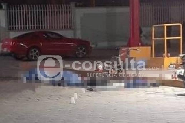 Acribillan a seis afuera de un Oxxo en Tecamachalco