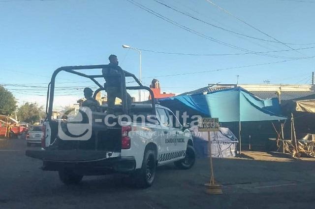 Operativo en baile sonidero desata balacera en el Mercado Morelos
