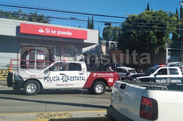 A balazos intentan asaltar a hombre en Santander de Zavaleta
