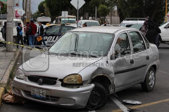 Gasolinero choca vehículo y mata  a mujer en la 4 poniente