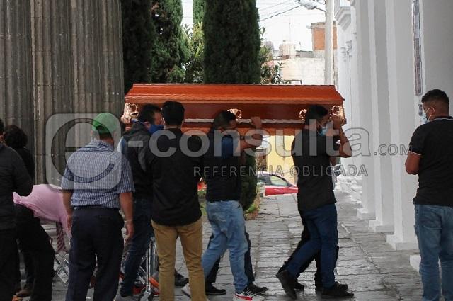 Sepultan a Susana Cerón, policía asesinada en Puebla