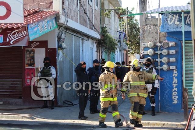 Atienden fuga y hallan toma ilegal de gas en Xochimehuacán
