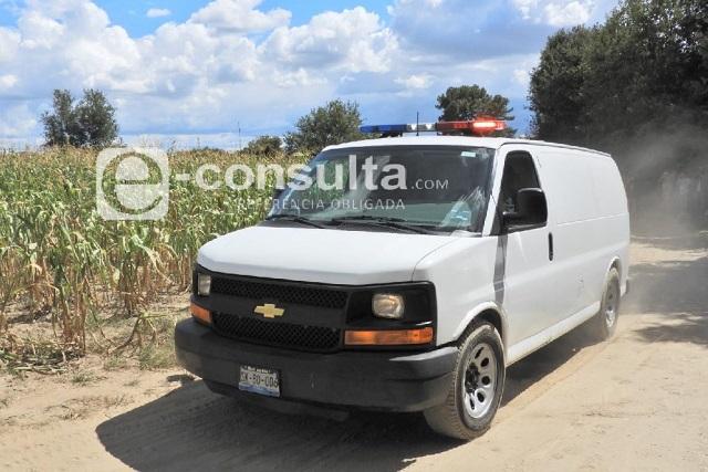 Hallan cadáver maniatado en un paraje de Xonacatepec