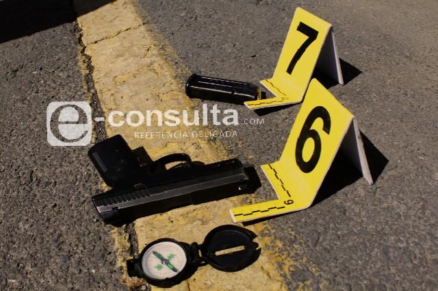 Mueren policía y civil durante tiroteo en Xicotepec
