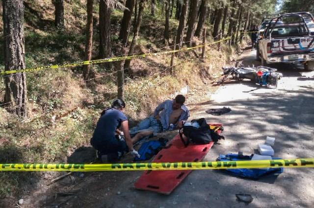 Roba motopatrulla de Xiutetelco y lo detienen en Veracruz