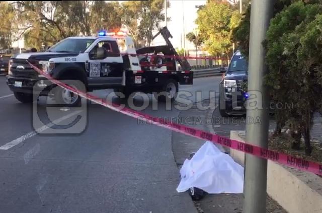Atropellan y matan a un hombre frente al estadio Cuauhtémoc